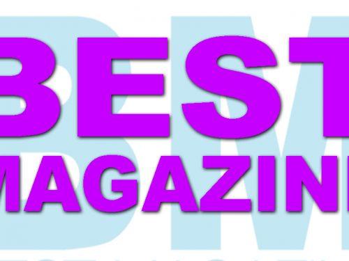 BEST MAGAZINE la rivista più fashion del momento rifà il look al sito: www.best-magazine.eu