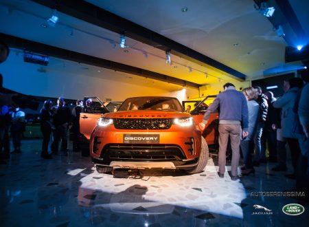 Presentazione della nuova Land Rover Discovery il nuovo Suv a sette posti