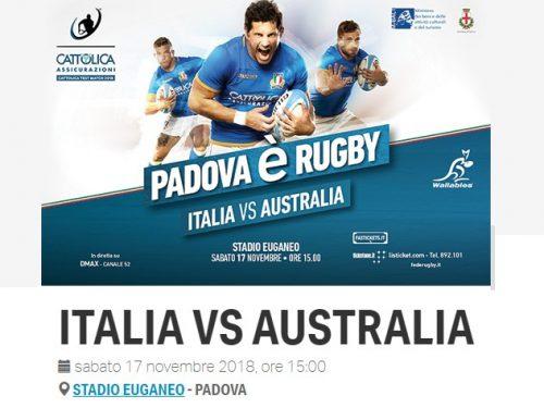 Il Terzo tempo di Italia vs Australia