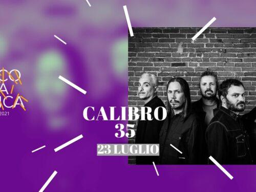 CALIBRO 35 in concerto al Parco della Musica venerdì 23 luglio 2021